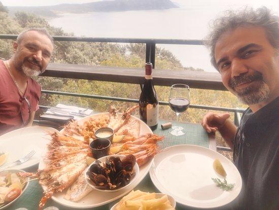Two Oceans Restaurant: arkadaşım
