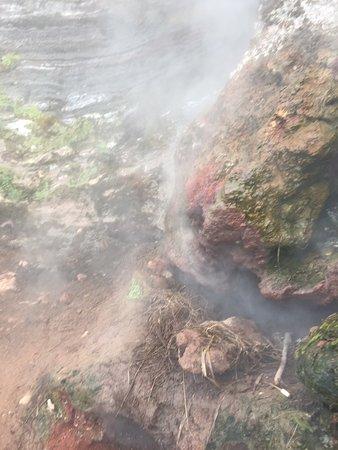 Mount Batur: Steam vent