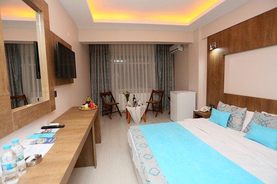 Yenilenen odalar ile Tatil keyfinize kaldığınız yerden devam edin