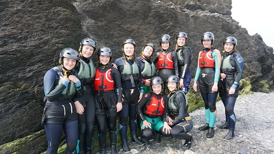 Coasteering: Group picture!