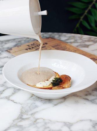 Creamed Mushroom Veloute