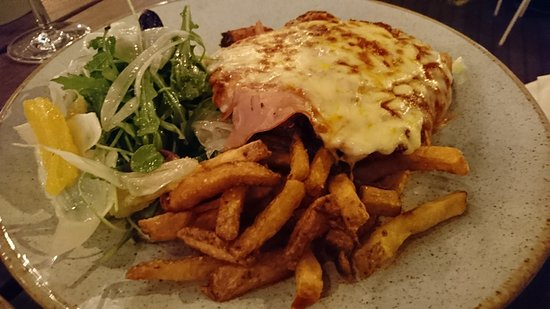 Chicken Parma at the Quarter Acre