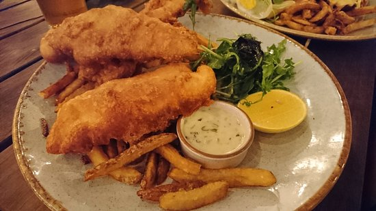 Fish & Chips at the Quarter Acre