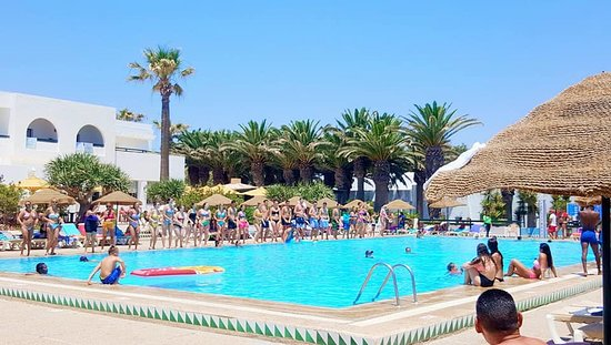 Hotel Hammamet Beach: Dance du Club