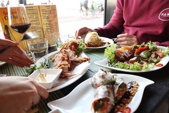 Dinner at Saigon Caphé