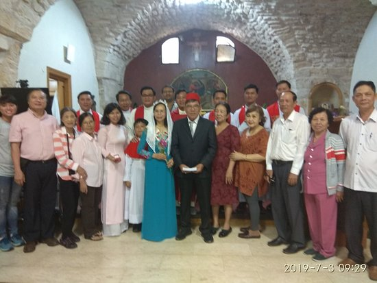 Kfar Cana, Israel: John 2:1-11New King James Version (NKJV)  Water turned into wine - Jesus first miracle during a wedding in Cana