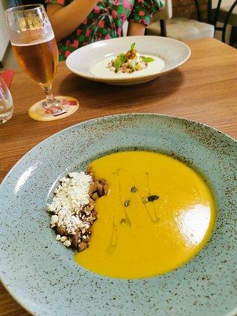 SOVA: soupe à la citrouille
