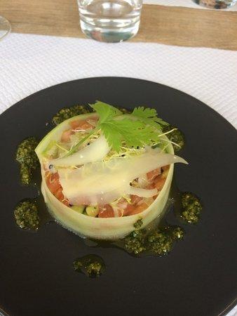 Tartas, Frankrike: Tartare de tomates