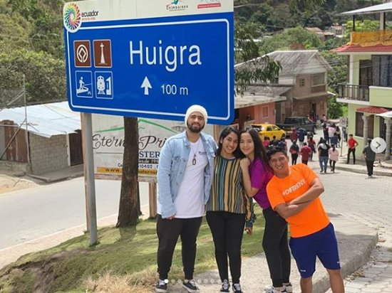 Huigra, Ekwador: Paseo grupal