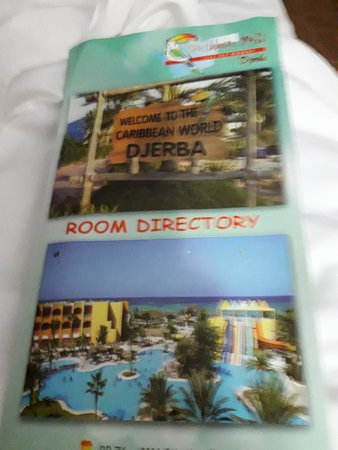 Caribbean World Thalasso Djerba: pancarte de l'hôtel
