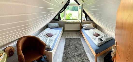 2-Bett Dachzimmer