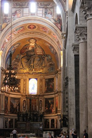 Leaning Tower of Pisa: Inside the Cathedral.