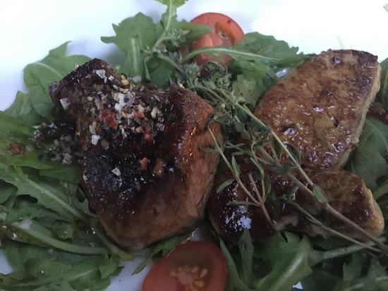 Kitzingen, Nemecko: filet mignon e fois gras
