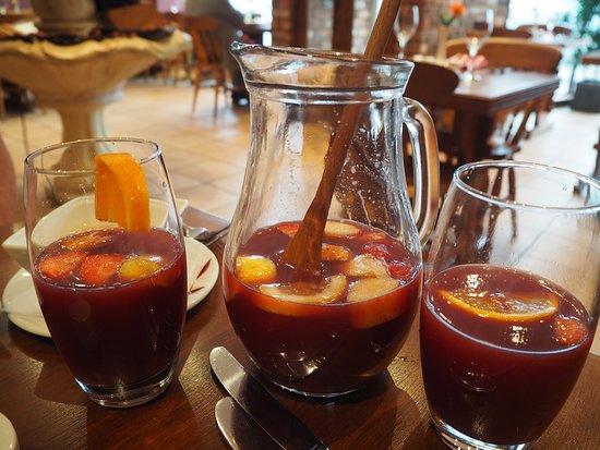 The New Mediterranean Restaurant: Sangria
