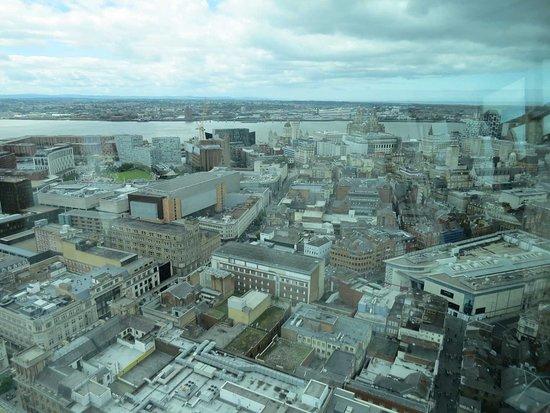 Utsikt över Liverpool