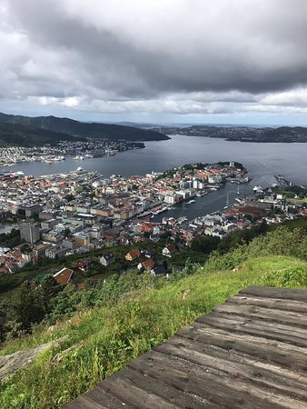 Great views of Bergen