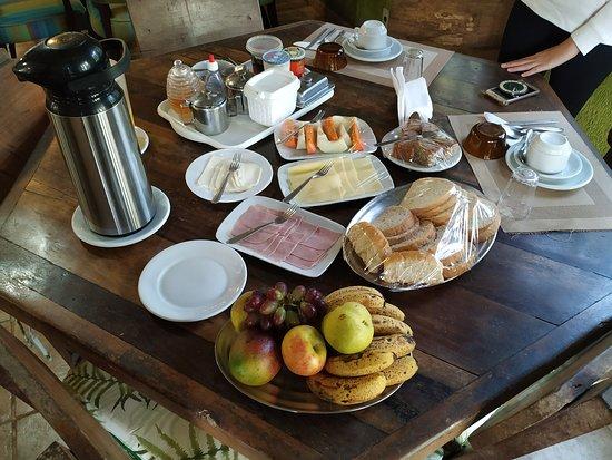 Pousada das Cavernas PETAR: Café da manhã