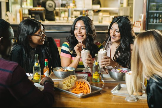 Friends don't let friends eat bad burgers!