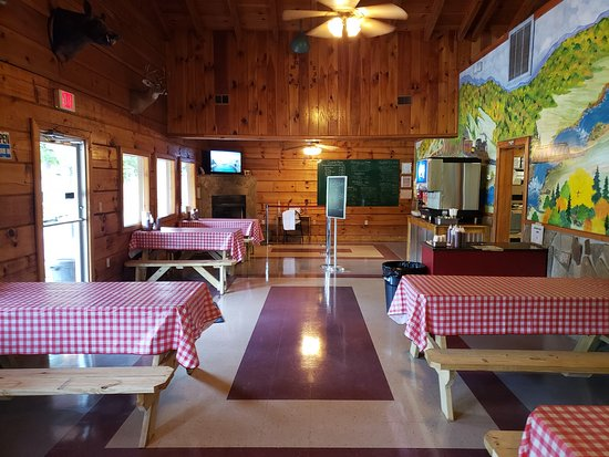Coalfield, TN: Our dining room. Come picnic in the mountains with us.