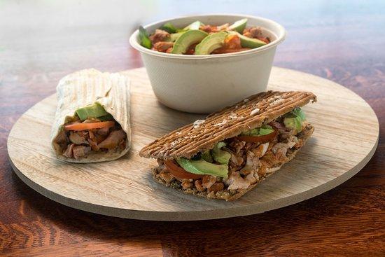 Choose sandwich, wrap or salad :)