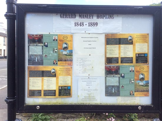 Gerard Manley Hopkins Monument