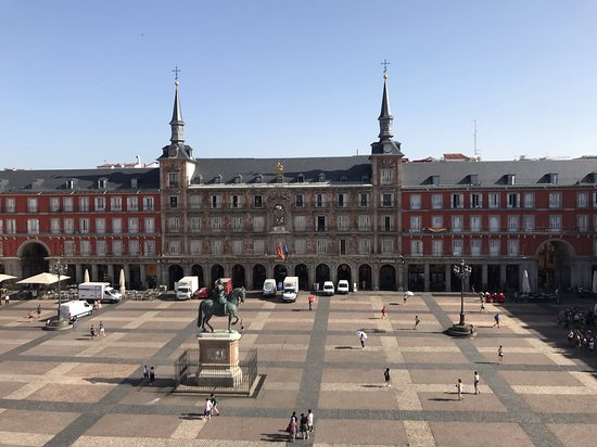 Overlooking Plaza Mayor
