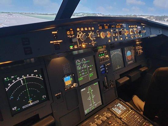 cockpit before start