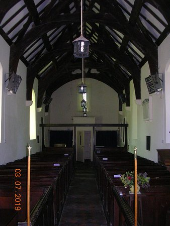 Interior of St. Mary's Church (Llanfair)