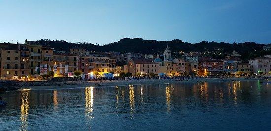 San Terenzo, Italy: Dal mare.....