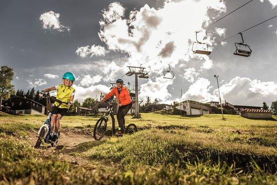 Kliny , Repubblica Ceca: Downhill scooters Sport areál Klíny