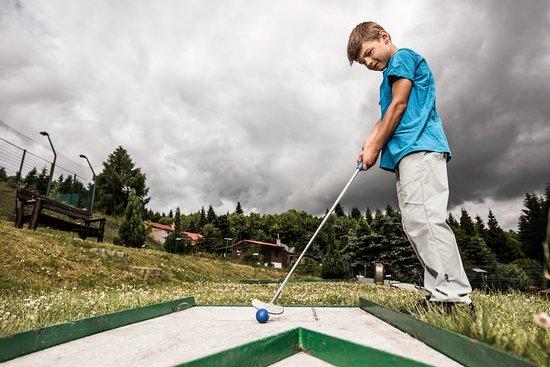 Kliny , Repubblica Ceca: Minigolf Sport areál Klíny