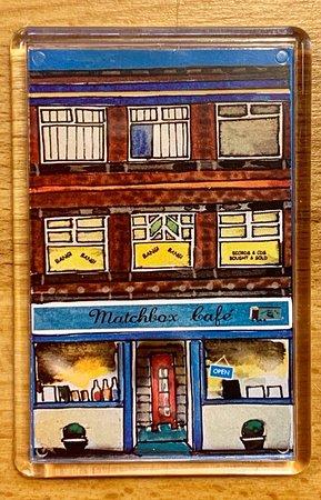 #FridgeStreet created this lovely magnet of our little café
