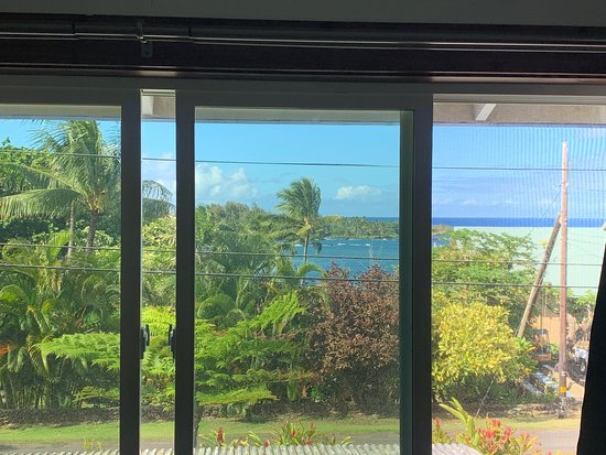 Joe's Place Hana: Amazing view from room 7(Family room)