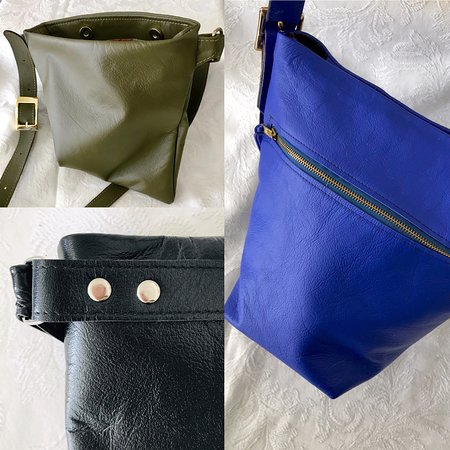 Tenterfield, Australia: Hand crafted leather bags by Carmel from Tramonto Design.