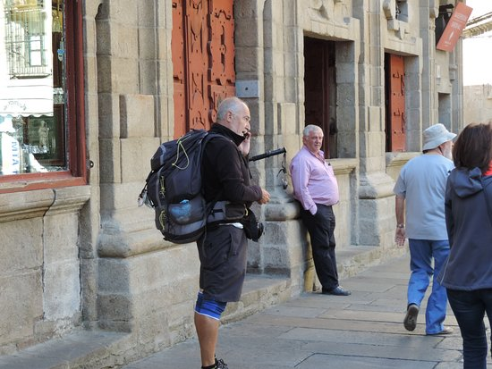 At the end of the Camino