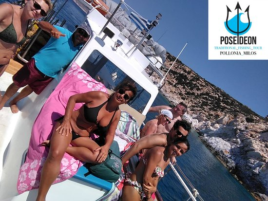 Milos Poseidon Boat Fishing & Tours