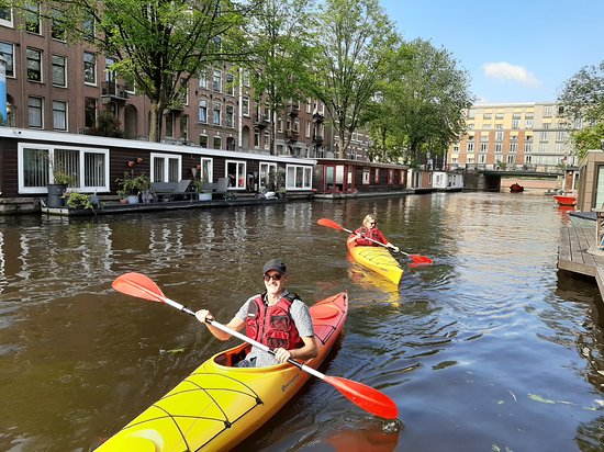 Kayak in Amsterdam