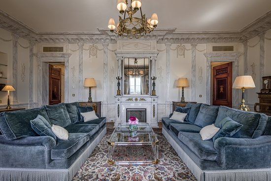 Hotel Beau-Rivage Geneva: Salon Suite Umberto
