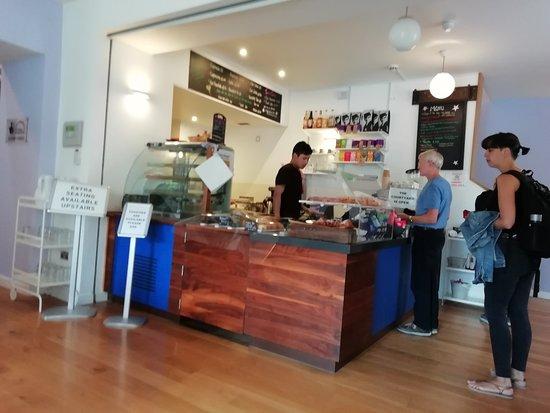 The cafe bar