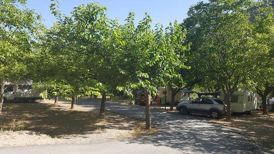 Begis, إسبانيا: zona de caravanas