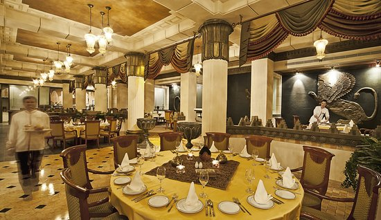 Gulf Hotel Bahrain Convention and Spa: Taking inspiration from Persia's royal palace of Takht Jamsheed, the Gulf Hotel's chic restaurant offers a fine dining experience fit for a king.  Enchanting traditional decor with the grand interior boasting dramatic chandeliers, stunning shields and swords, and imperial vases. This atmospheric setting is beaten only by the culinary gems on offer.  Guests can tempt their taste buds with an array of dishes created by a talented all-Iranian team, which is headed by chef Hussain  Voted as Best MEN