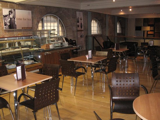 Mezzanine Café: Arguably the best home-made soup in South Lanarkshire!   Whether a quick cuppa, a chat over coffee or much-needed R&R after a hard morning with the kids, our friendly cafe staff will be please to freshly prepare your choice of sandwiches and snacks. Service from 10am -2.30pm daily