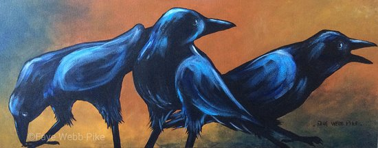 Lorneville, Kanada: Something to crow about - Acrylic