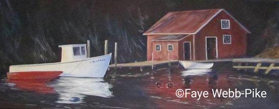Lorneville, كندا: Fishing Cove - Acrylic