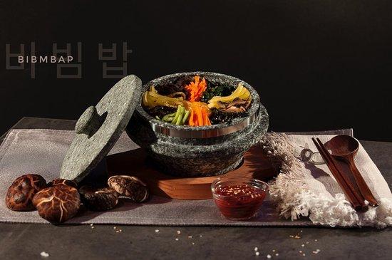 Korean Bibmbap > from our Menu