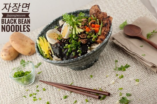 Black Beam Noodles > from our Menu