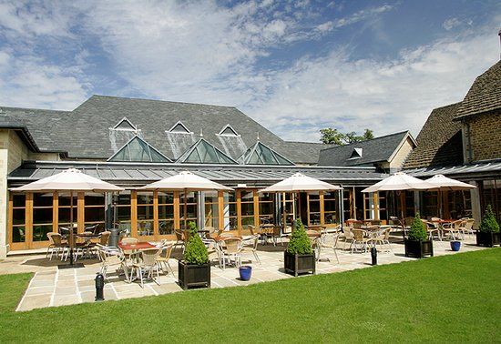 The Clubhouse Brasserie Terrace Bowood Hotek Spa & Golf Resort