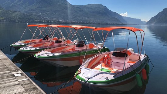 Oliveto Lario, อิตาลี: Our Fleet of Tullio Abbate Sunshine 500