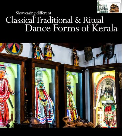Showcasing different classical, traditional, ritual dance forms of Kerala