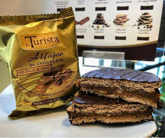 Chocolates del Turista: Alfajores artesanales de dulce de leche